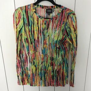 Long Sleeve Multi-Colored Tee Shirt